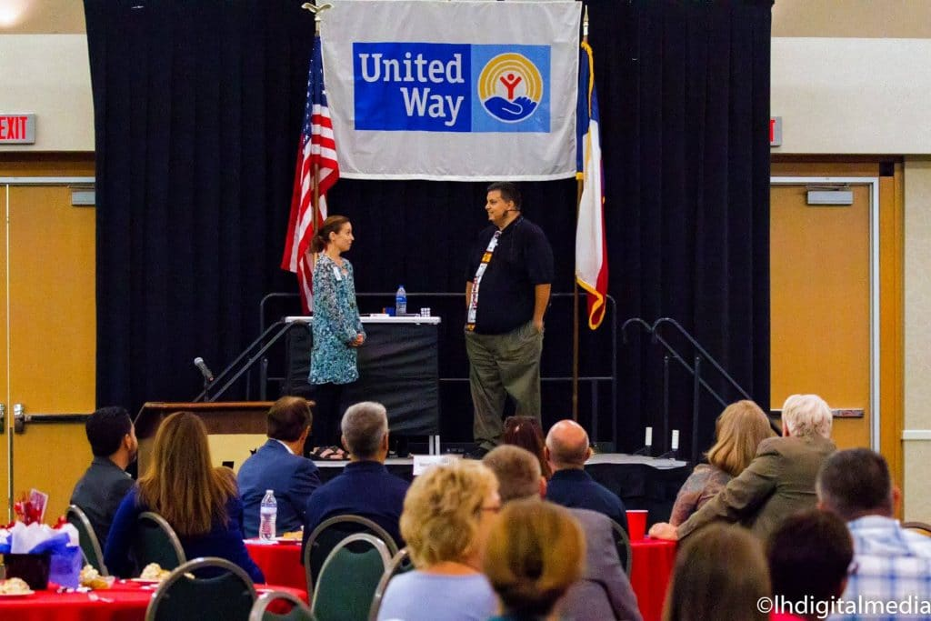 Austin Texas Magician and Speaker United Way Show