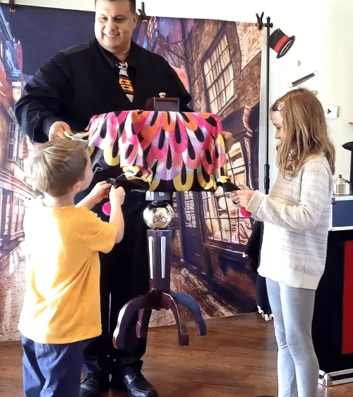 Austin Texas Magician and Speaker Birthday Party